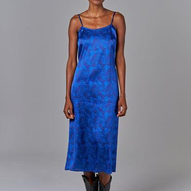 Stevie Slip Dress | Cobalt Lace