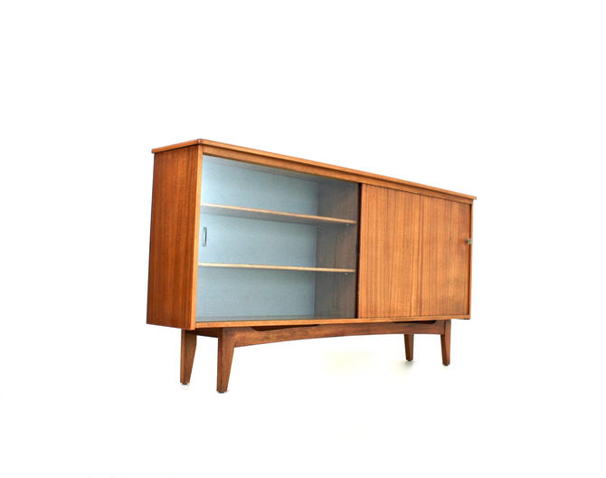 Mid Century Danish Bookcase/Display Cabinet by SputnikFurnitureLLC