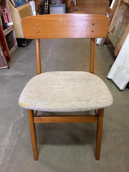 Vintage Farstrup Teak D Scan Chair
