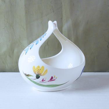 Eva Zeisel Tomorrow's Classic Gravy Boat - Bouquet Pattern by Hallcraft China by MostlyMidModern