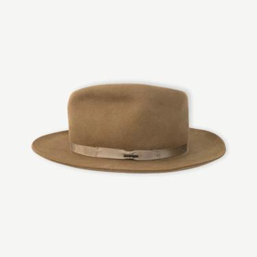 Vintage STETSON x Eddie Bauer Western Fedora ~ size 7 3/4 ~ Cowboy Hat ~ Fur Felt ~ by SparrowsAndWolves