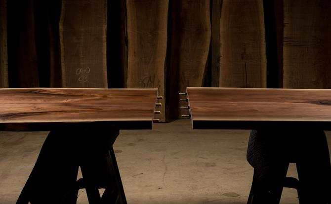 NY City Elevator Compatible Live Edge Tables by KirkpatrickDesigns