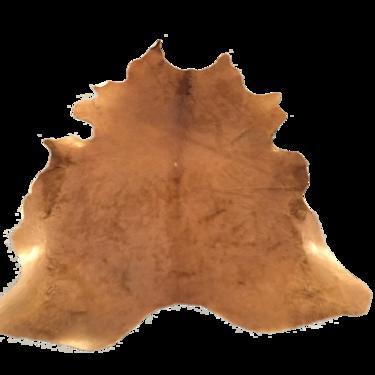 Large Brown Cowhide Rug