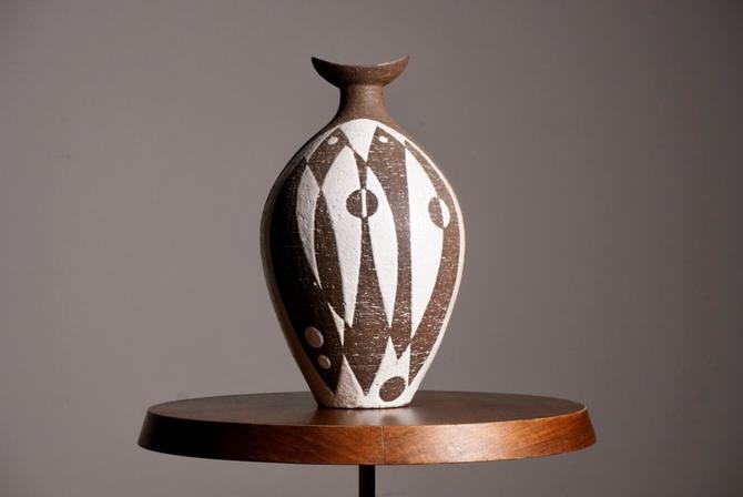 Modernist Ceramic Vase by Thomas Toft by Youshouldknollbetter