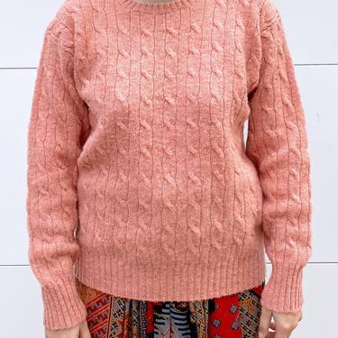 Pink Polo Ralph Lauren Wool Sweater
