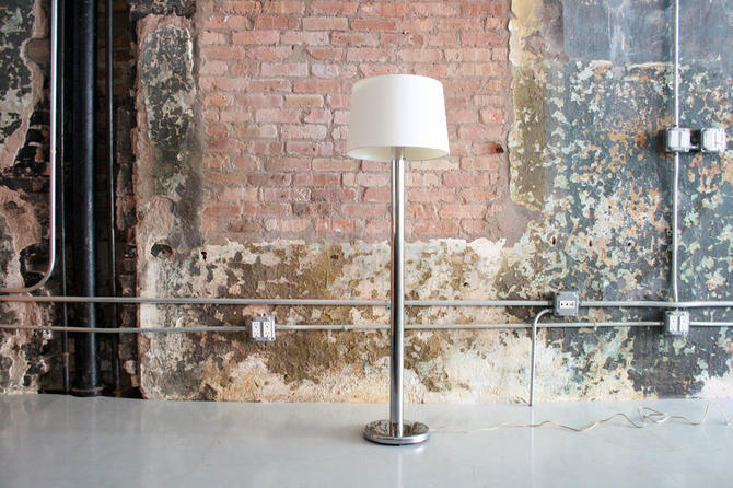 Chrome Nessen Floor Lamp