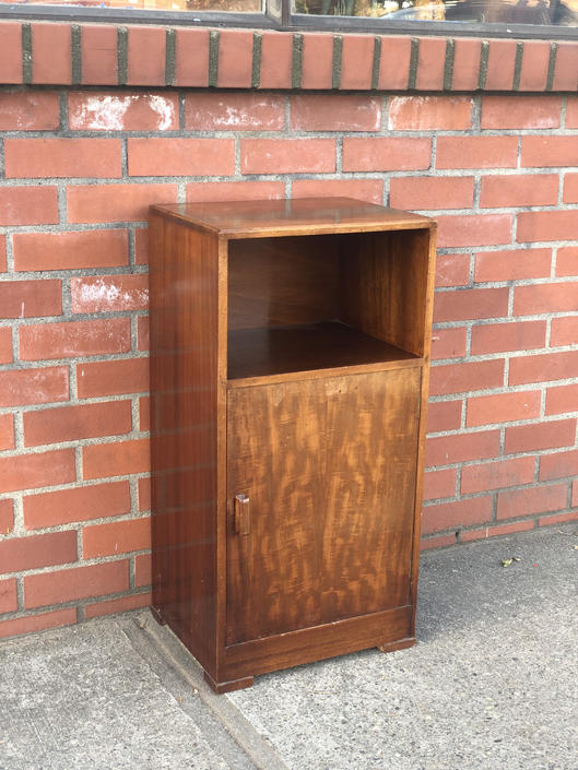 Free and Insured Shipping Within US - Mid Century Modern Table Cabinet Stand Rosewood by BigWhaleConsignment