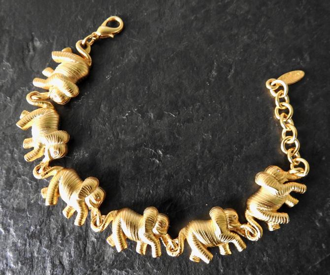 Bob Mackie Elephant Bracelet by LegendaryBeast