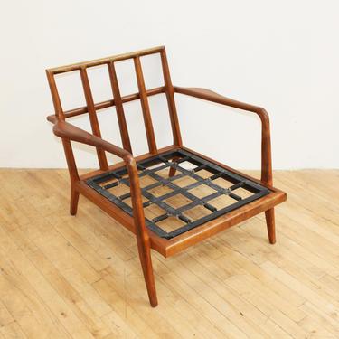 Mel Smilow Teak Club Chair Lounge Mid Century Modern Vintage by 330Modern