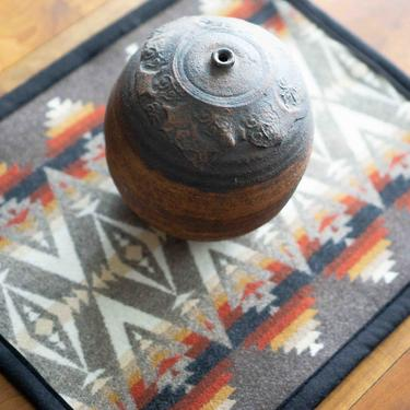 PLACEMAT with PENDLETON Wool - Handcrafted - Pacific Crest design - Dinner Place Mats by CovetModernDesign