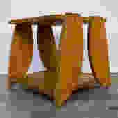 Reiji Kimura Cut Plywood Side Table