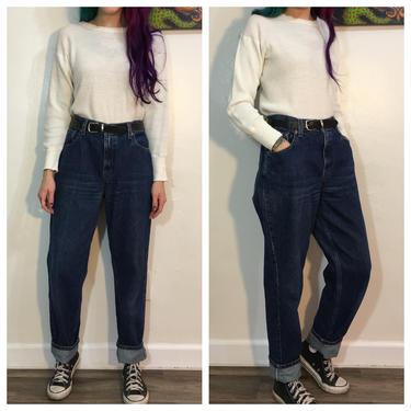 Vintage 1990's Dark Wash Levi's 550 Jeans by SurrealistVintage