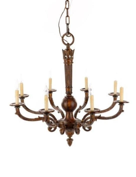 Louis XVI 8-Light Chandelier