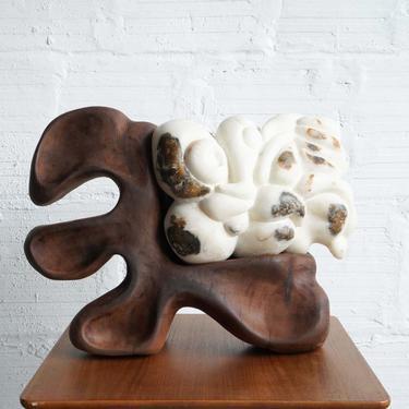 """""""Carrara Marble #1""""- Sculpture by Chris Belluschi"""