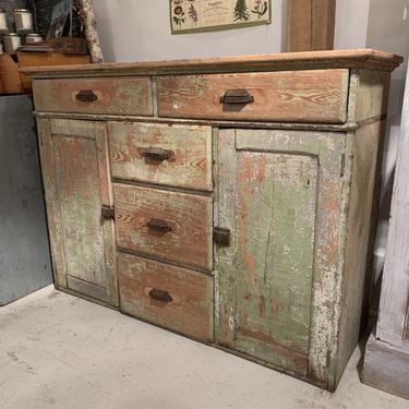 Vintage Chippy Cabinet
