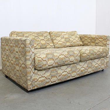 Mid-Century Danish Modern Vintage Milo Baughman Style Loveseat Sofa by AnnexMarketplace