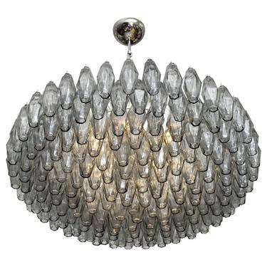 Murano Glass Polyhedral Chandelier