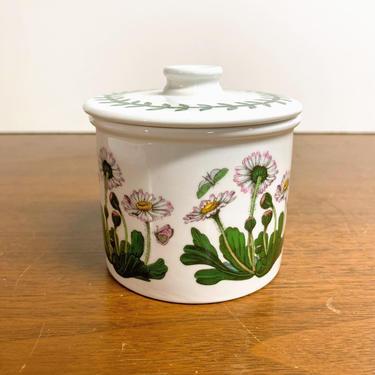 Vintage Portmeirion The Botanic Garden Drum Sugar Bowl by OverTheYearsFinds