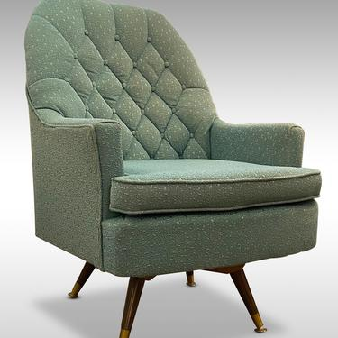 Comfortable Vintage Armchair by Berkline of Morristown, TN, Circa 1960s - *Please ask for a shipping quote before you buy. by CoolCatVintagePA