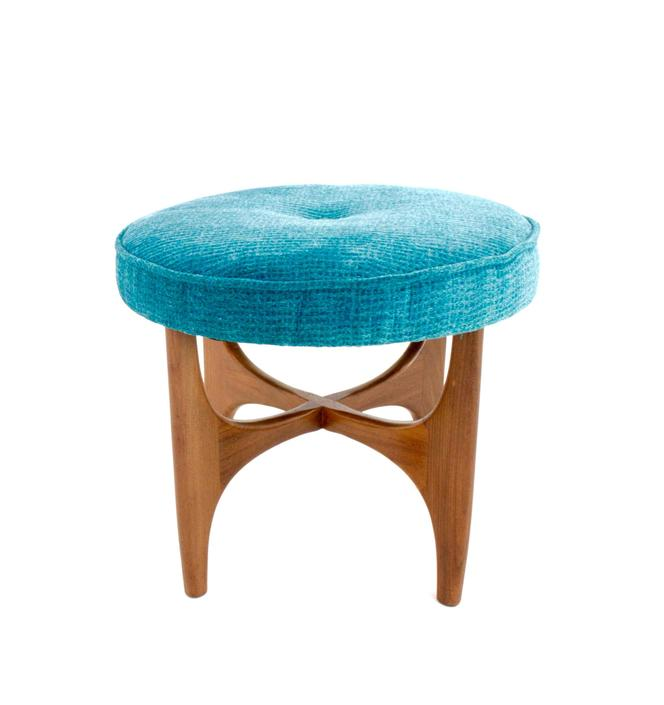 Mid Century Vanity Stool by G Plan by SputnikFurnitureLLC