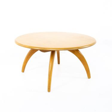 Heywood Wakefield Mid Century Round Coffee Table - mcm by ModernHill