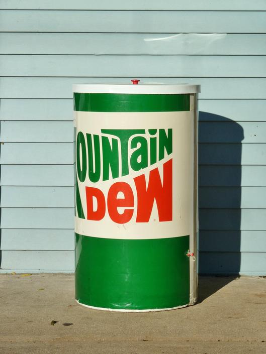 Vintage Mountain Dew Cooler Soda Advertising Store Display - Vintage  Advertisement by FlyTimesVintage