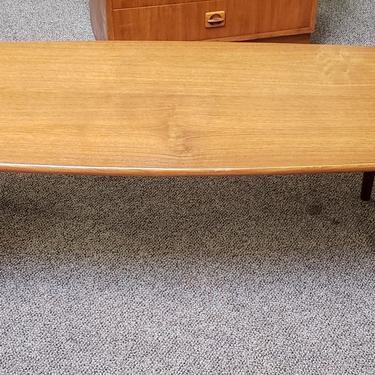Item #W951 Mid Century Teak Coffee Table c.1960