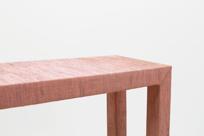 Upholstered Parsons Console by BetsuStudio