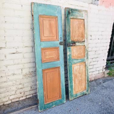ANTIQUE/RUSTIC Pair of Doors (Los Angeles) by HouseCandyLA