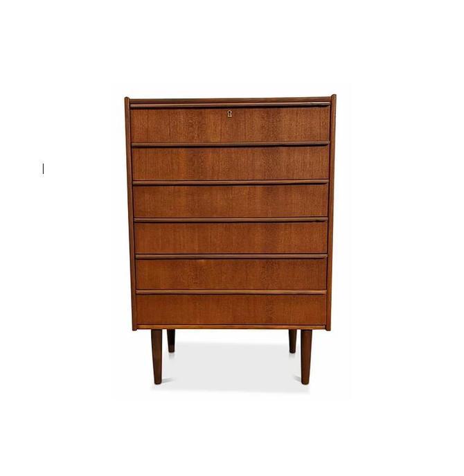 Vintage Danish Mid Century Teak Dresser - Grine by LanobaDesign