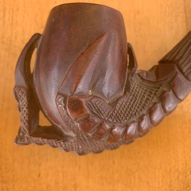 The BEST hand carved briar pipe by QuaboagValleyAntique