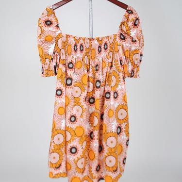 Jane Dress - Sunflower Pink