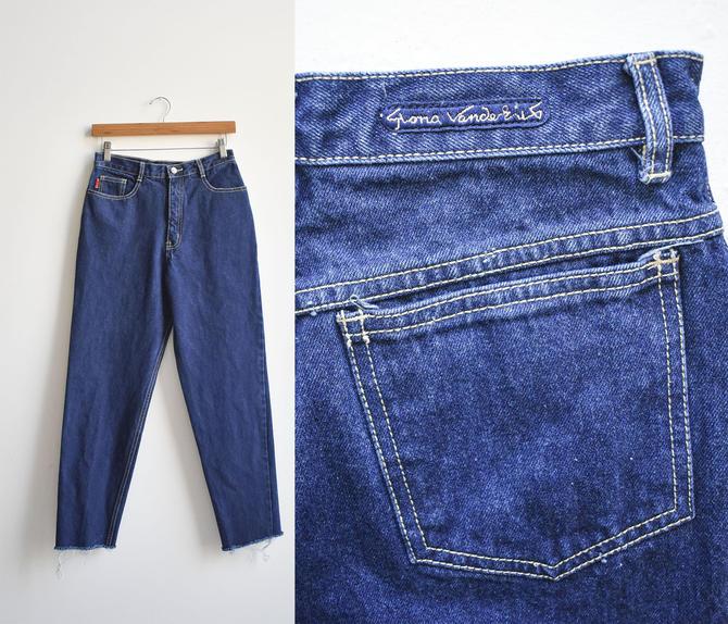 80s Gloria Vanderbilt Hi Waisted Jeans by milkandice