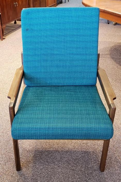 Item #P3055 Vintage Teak &  Cushion Arm Chair c.1960s