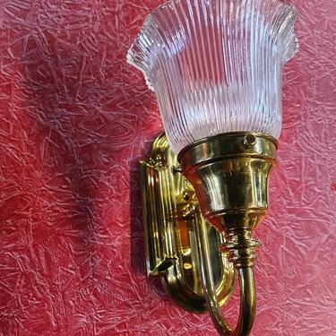 Brass Vintage Sconce