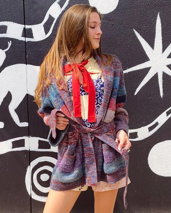 70's Acrylic Space Dye Sweater