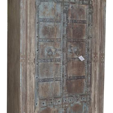 Tall Wardrobe Storage Cabinet with Antique Indian Doors by Terra Nova Designs Los Angeles by TerraNovaLA