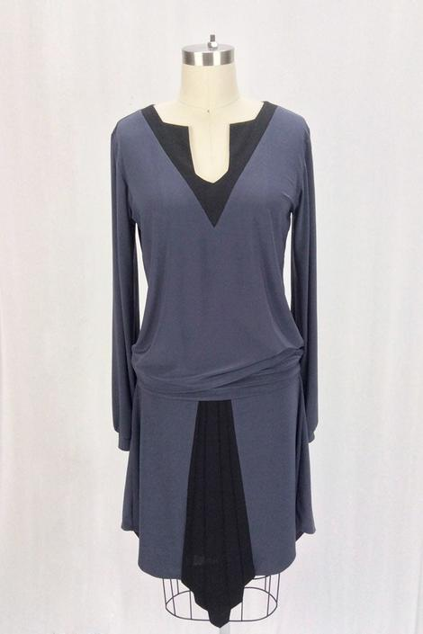 Romona Dress (Gray)