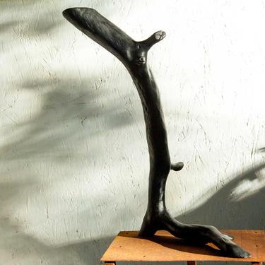 Wabi Sabi Balance Shou Sugi Ban Black Oak Sculpture by ReduxIndustry