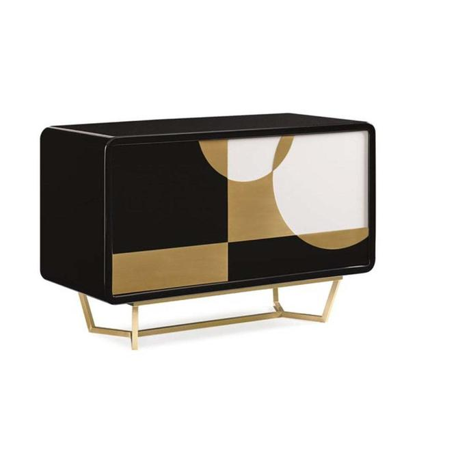 Caracole Signature Mid-Century Modern Inspired the Urbane Chest