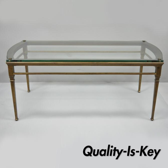 The Bombay Company Modern Decorator Metal Glass Castleton Coffee Table From Vintage Philly Furniture Of Philadelphia Attic