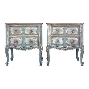 Henredon Villandry Country French Nighstands - a Pair by 2ndStoryTradingCo