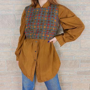 1960's Wool Knit Mod Vest Top by NoteworthyGarments