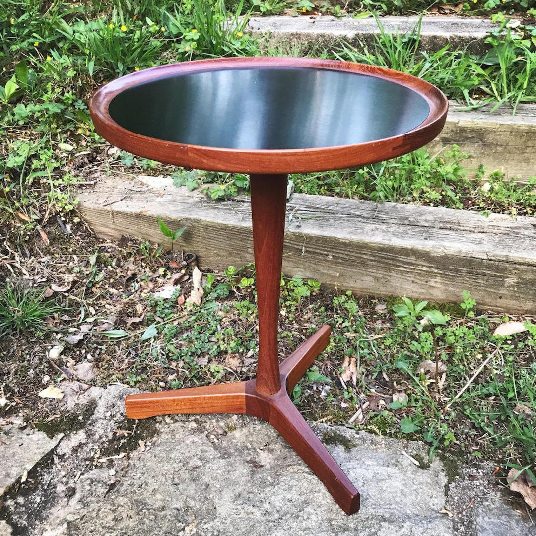 Hans C Andersen Table Tripod Side Table Vintage Mid