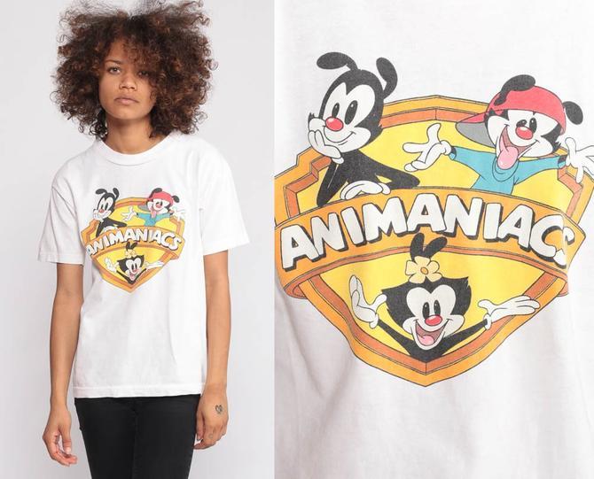 Animaniacs Shirt 90s Throwback Shirt Cartoon TV Retro TShirt Graphic