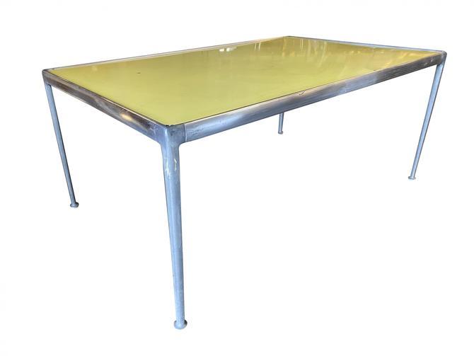 Rare Aluminum Mid Century Dining Table by Richard Shultz, Circa 1966 by HarveysonBeverly