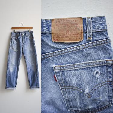 Vintage Levis 505s Jeans 30x32 by milkandice