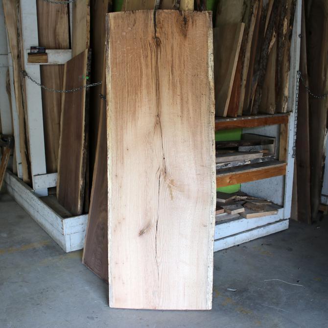 "Treincarnation Live Edge Lumber – Oak 24.75-26"" x 72.25"" Serial #5246"