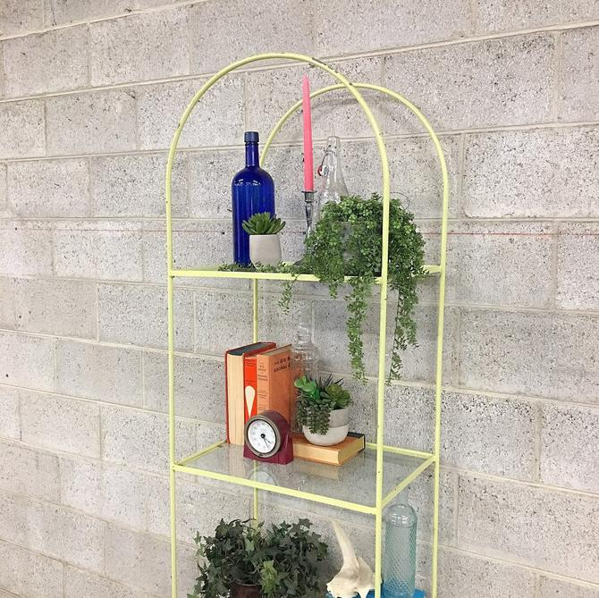 LOCAL PICKUP ONLY ————— Vintage Arch Shelving Unit by RetrospectVintage215