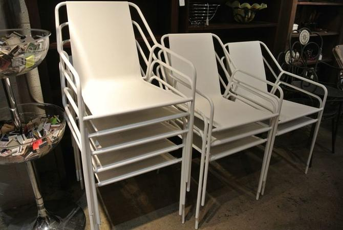 Metal chairs. $65/each